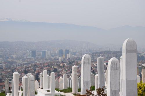 sarajevo bosnia cemetery
