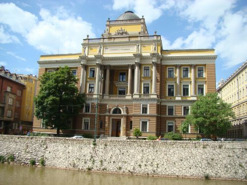 sarajevo architecture bosnia