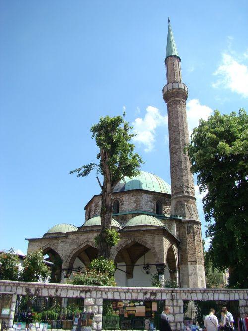 sarajevo mosque minaret