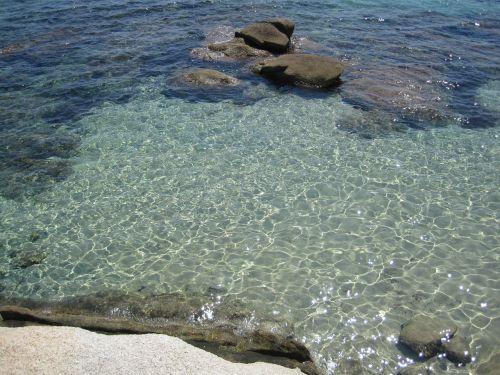 sardinia beach crystal clear waters