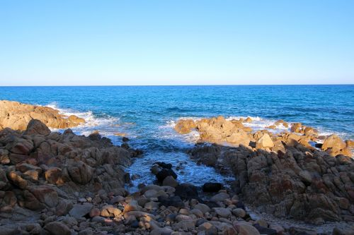 sardinia mediterranean rock