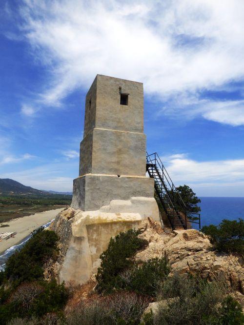 sardinia tower torre delle saline