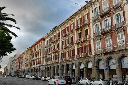 sardinia  cagliari  via roma