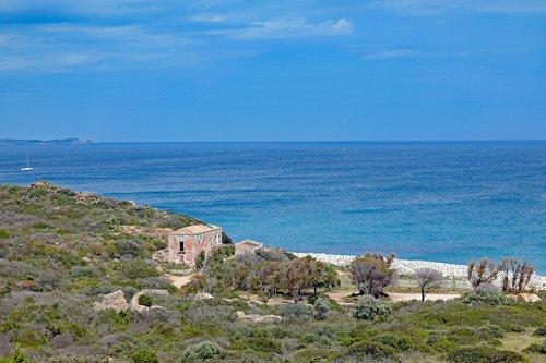 sardinia  south east coast  beach