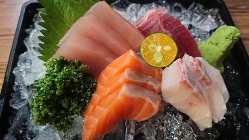 sashimi  japanese  raw fish