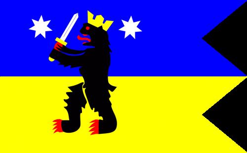 satakunta flag finnish