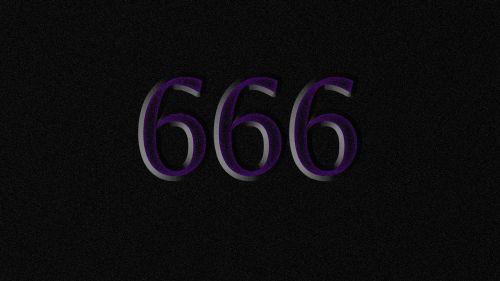 satan number beast