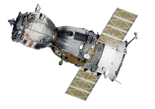 satellite soyuz spaceship