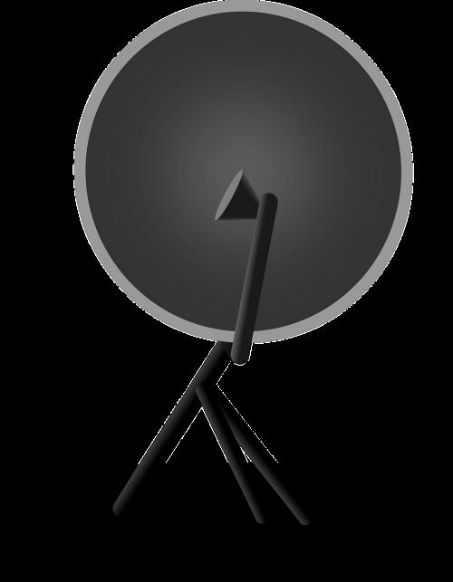 satellite dish television satellite