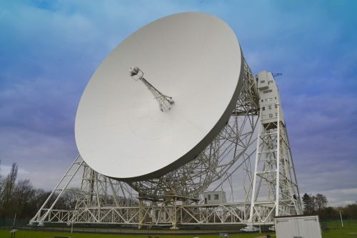 satellite dish telescope space