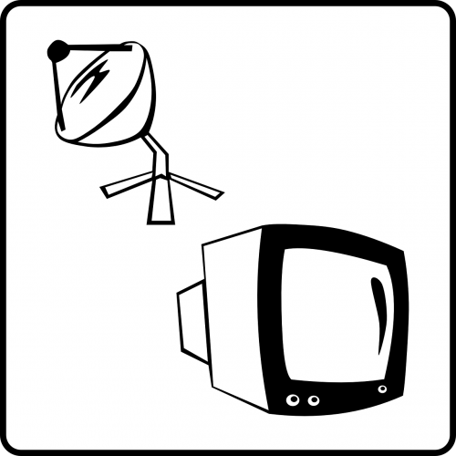 satellite tv receiver television