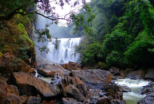sathodi falls water fall kali river