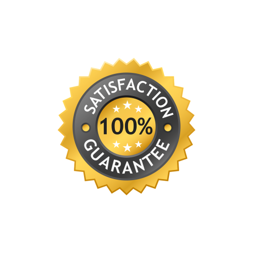 satisfaction label guarantee label 100 satisfaction
