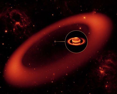 saturn planet moon