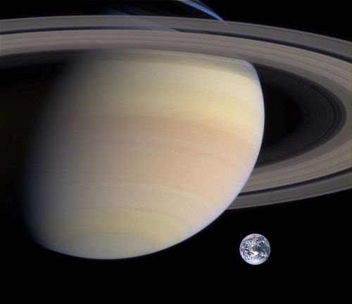 saturn planet earth