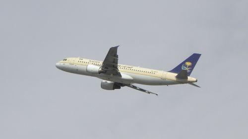 plane airbus saudia
