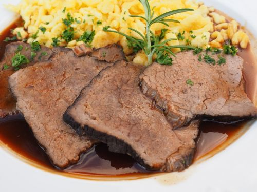sauerbraten meat meat dish