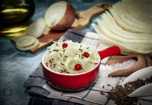 sauerkraut caraway seed fermentation cabbage