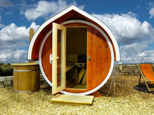 sauna sweating outdoor sauna
