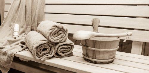 sauna relaxation sweating bath