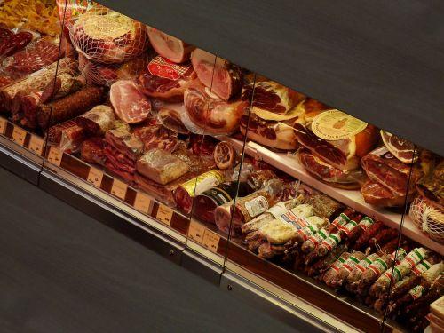 sausage ham food