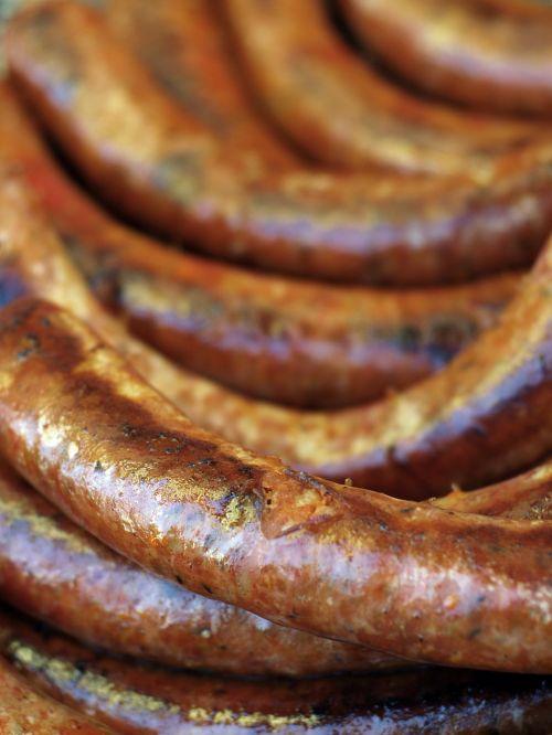 sausage meat food