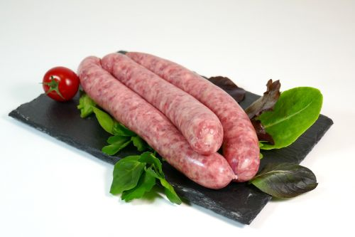 sausage meat grilling