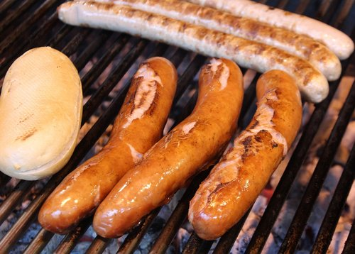 sausage  grill  meat