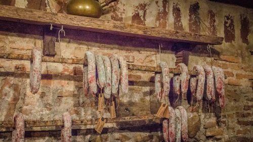 sausage salami sausages