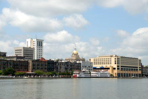 Savannah, Georgia Cityscape