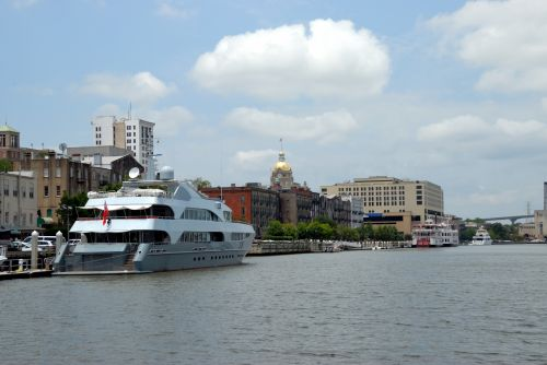 Savannah Georgia Riverfront