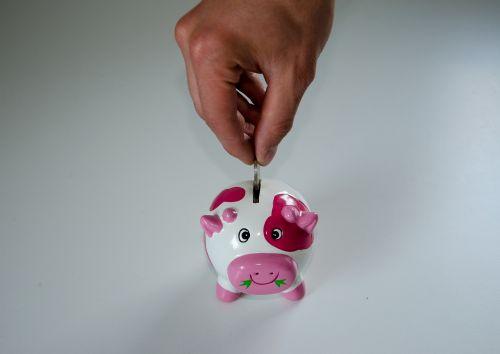 save piggy bank money
