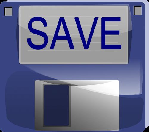 save disk floppy