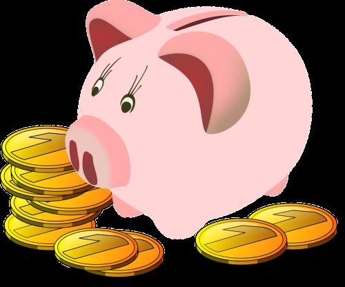 savings box pig piggy bank