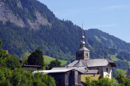 savoie alps saint-nicolas-la-chapel