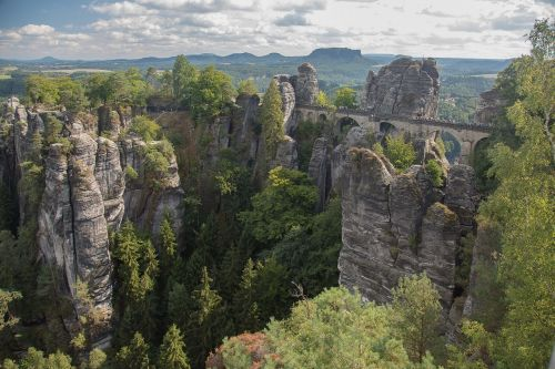 saxon switzerland bastei rathen