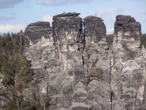 saxon switzerland sand stone rock