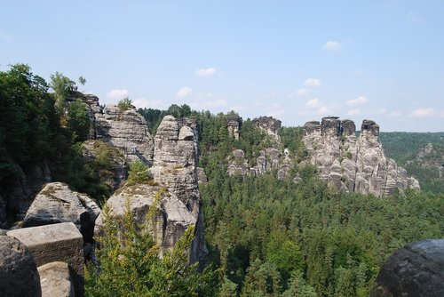 saxon switzerland  landscape  elbe sandstone mountains