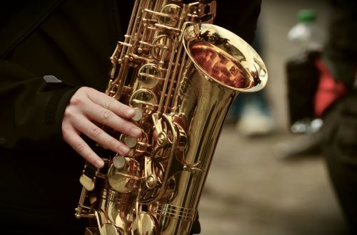 saxophone musical instrument music