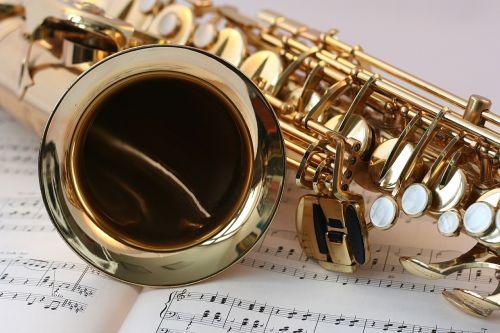 saxophone music gold
