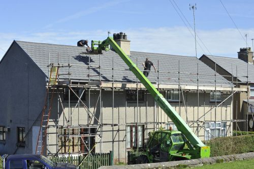 scaffold roof tiles