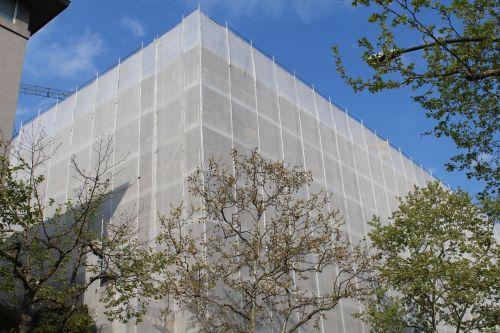 scaffolding renovation building