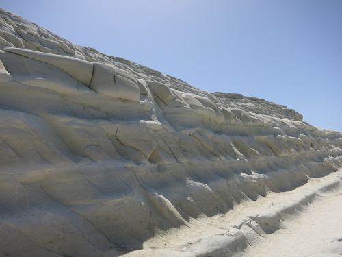 scala dei turchi stairs of turks limestone