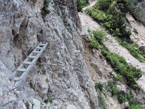 scale rock mountain