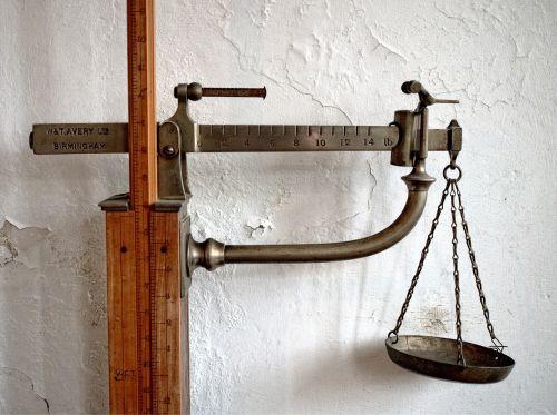 scales balance weighing