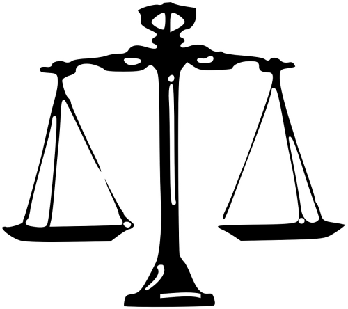 scales justice law