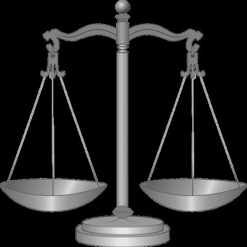 scales balance symbol