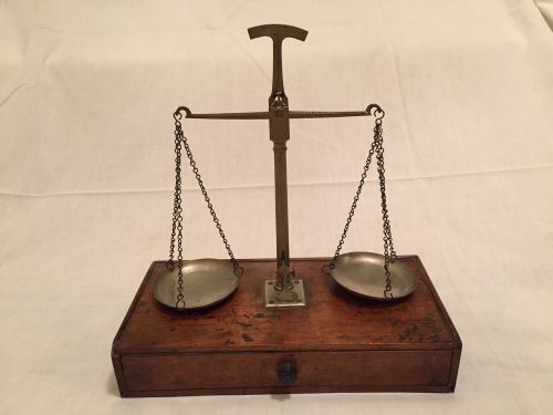 scales of justice weigh in antique