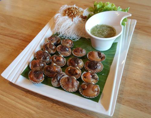 scallop seafood food