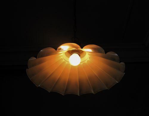 Scalloped Light Shade